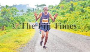 Shiri Chand Mushroom powers through the harsh terrain of the Namosi highlands during the Namosi Marathon