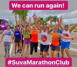 """The Suva Marathon Club has been accredited by the Fiji National Sports Commission. This means we can now start our competitions and social runs again. Join us this Saturday for """"We Can Run Again"""", a special social run for July. 10km Run: 6.00am registration for a 6.30am start, 5km Run: 6.30am registration for a 7.00am start. Start from the Suva Bowling Club. SuvaMarathonClub #runFiji #readyforachallenge #TogetherWeCan #Fiji"""