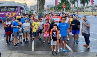 Some photos from today. Thanks all for joining. #SuvaMarathonClub #runFiji