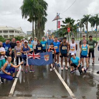 Great turnout for the October social run- special one to mark Fiji's 50th year of independence 🇫🇯 Good prep for Namosi Marathon happening in two weeks!#SuvaMarathonClub #runFiji #NamosiMarathon