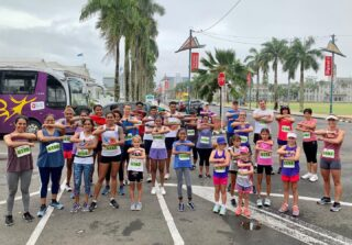 A special social run for International Women's Day 🏃🏿♀️🏃🏿♀️🏃🏿♀️Race started off with words of encouragement from our Vice President/Secretary @noels_mallam. #IWD #IWD2020 #SuvaMarathonClub #runFiji